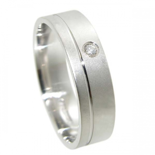 Diamond Wedding Ring TBC5010 - All Metals